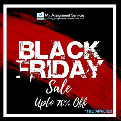 Get Ready For My Assignment Service Black Friday Sale
