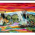 Early Peoples Of The North American Plains Before 1900 - Art Group