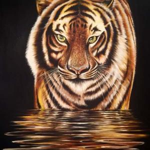 Tiger in Silence Art Competition