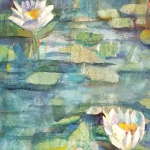 Water lilies in Watercolor  Art Competition