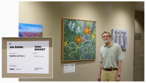 Jim Rehlin Exhibits Painting In ArtPrize Nine