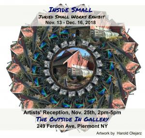Juried Show At The OUTSIDE IN Gallery Of Piermont